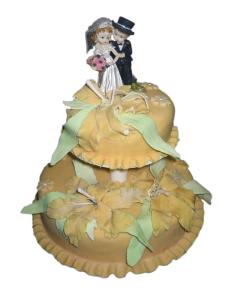 Торты в подарок жениху и невесте