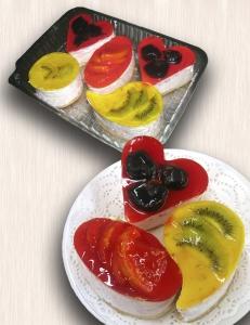 Европирожное с фруктовым наполнителем (1 шт.)