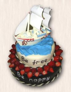 """Оригинальный № 06 """"Be free, be happy"""""""