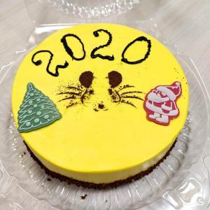 ".Новогодний торт ""Мышка"""