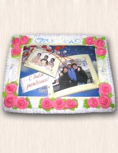 """Фото-торт № 03 """"Тройняшки"""""""